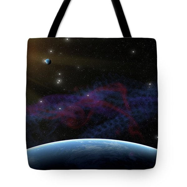 Yet Seen Places Tote Bag by James Heckt