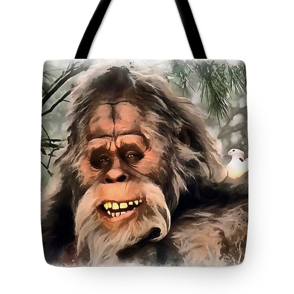 Yeti Tote Bag by Sergey Lukashin