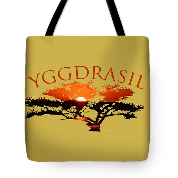 Yggdrasil- The World Tree Tote Bag