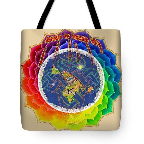 Yhwh Covers Earth Tote Bag