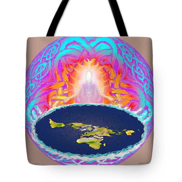 Yhwh Creation Tote Bag