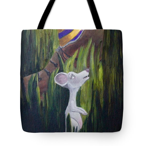 Yikes Mouse Tote Bag