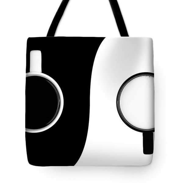 Yin And Yang Tote Bag by Gert Lavsen