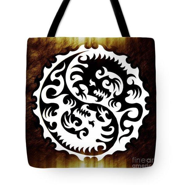 Yin Yang By Sarah Kirk Tote Bag