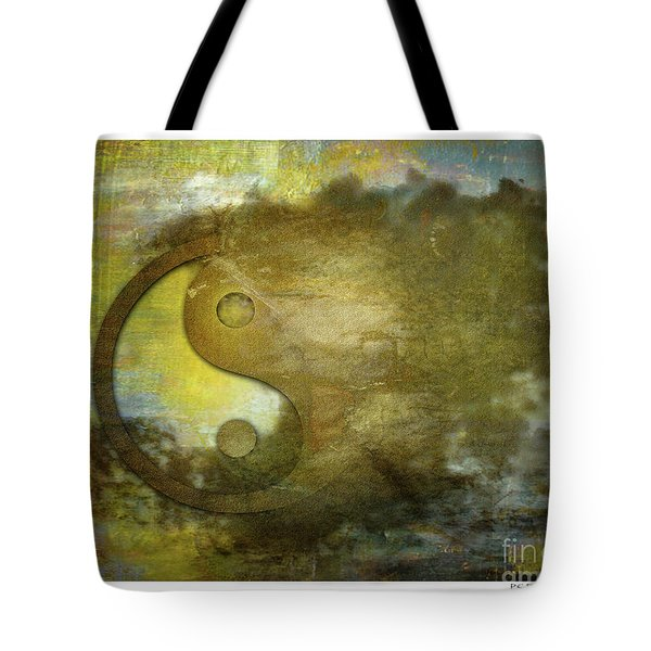 Ying And Yang Unbalanced Tote Bag