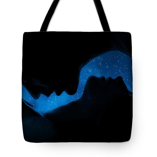 Ying-yang Tote Bag by Sue M Swank
