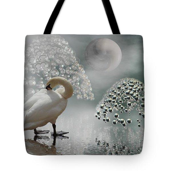 Yinyang - Moon Tote Bag