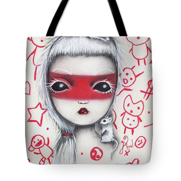 Yo  Tote Bag by Abril Andrade Griffith