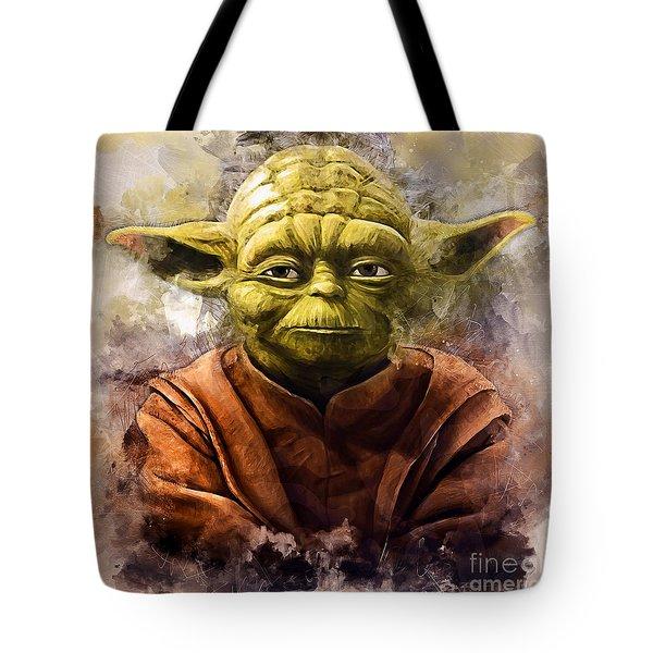Yoda Art Tote Bag