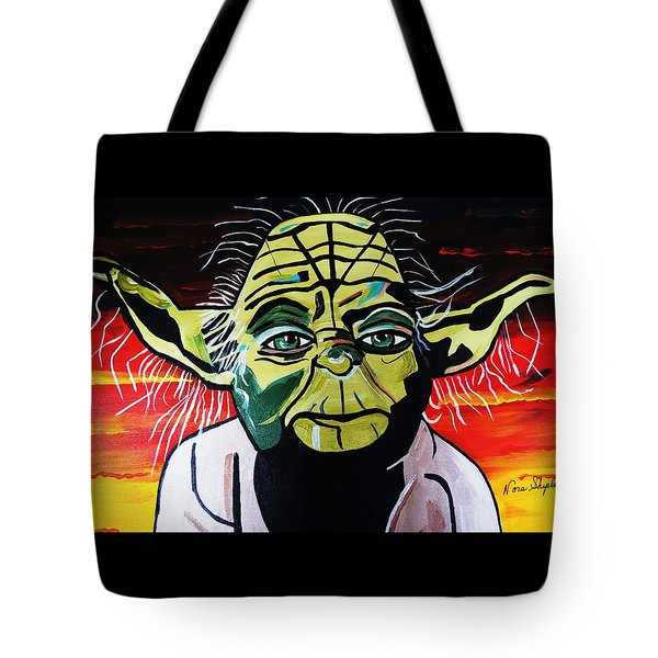 Yoda  Come Home Tote Bag