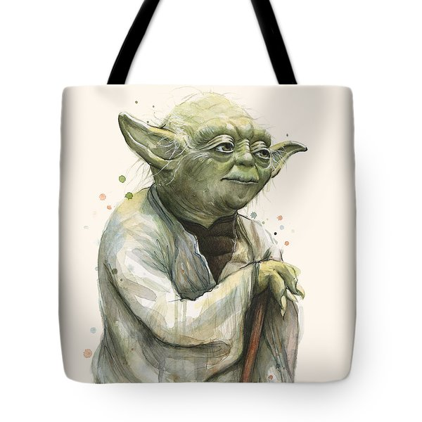 Yoda Portrait Tote Bag