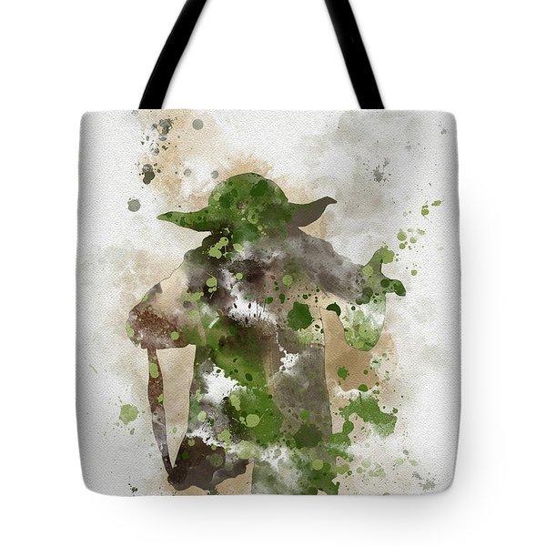 Yoda Tote Bag by Rebecca Jenkins