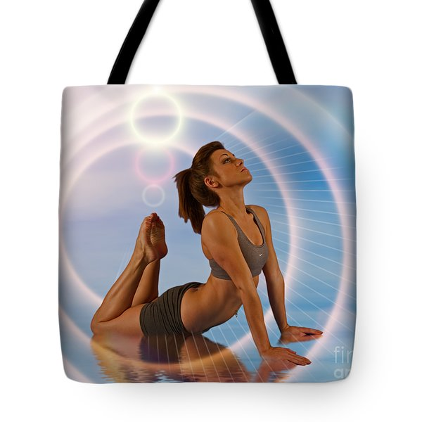 Yoga Girl 1209206 Tote Bag