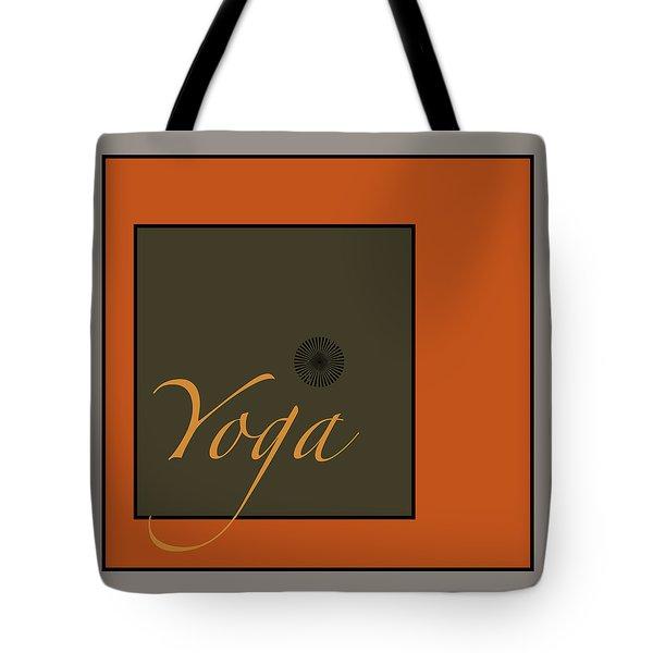 Yoga Tote Bag by Kandy Hurley