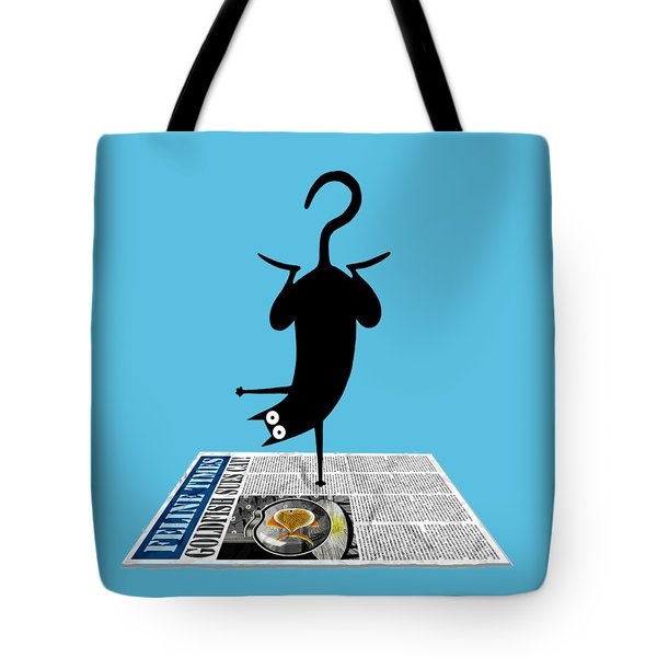 Yoga Mat Tote Bag by Andrew Hitchen