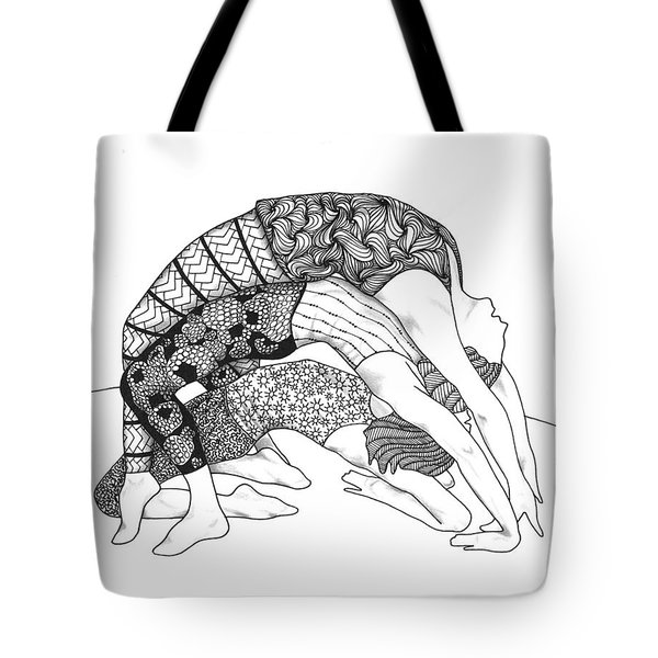 Yoga Sandwich Tote Bag