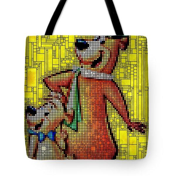 Yogi And Boo Boo Tote Bag