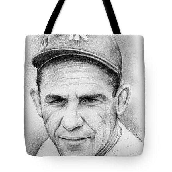 Yogi Berra Tote Bag