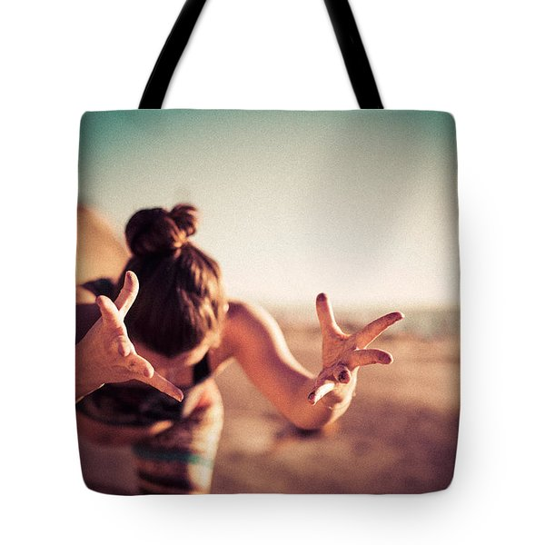 Tote Bag featuring the photograph Yogic Gift by T Brian Jones