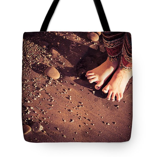 Tote Bag featuring the photograph Yogis Toesies by T Brian Jones