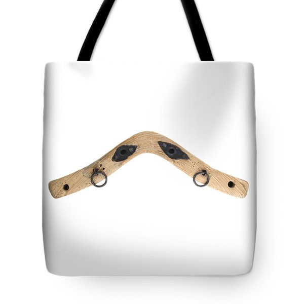 Tote Bag featuring the photograph Yoke - Part Of Harnesses For The Draft Animals by Michal Boubin