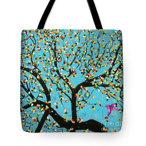 Yokina Hana Tote Bag by Natalie Briney