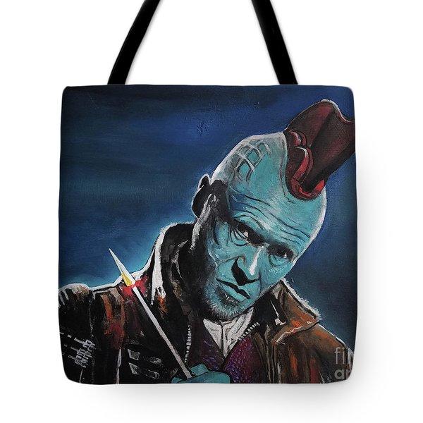 Yondu Tote Bag by Tom Carlton