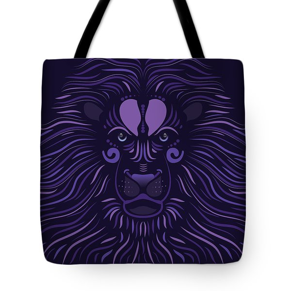 Yoni The Lion - Dark Tote Bag