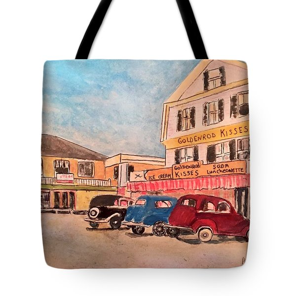York Beach In Maine Tote Bag