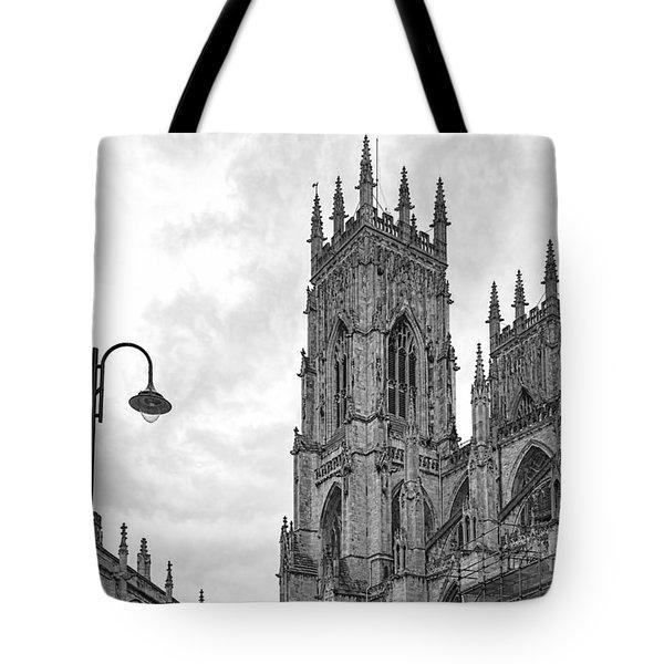 York Minster Tote Bag by David  Hollingworth