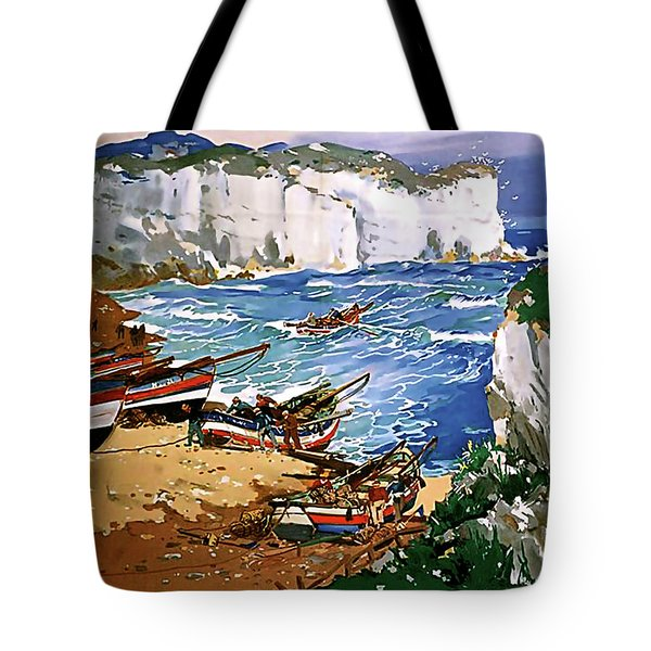 Yorkshire Coast Tote Bag