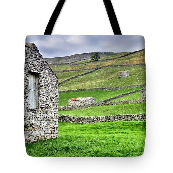 Yorkshire Dales Stone Barns Tote Bag