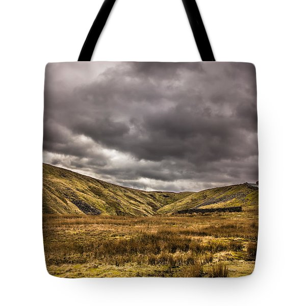 Yorkshire Hills Tote Bag by David Warrington