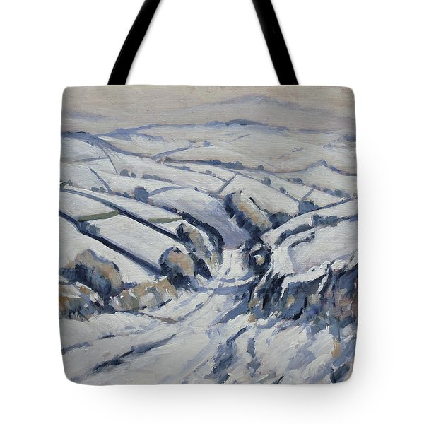 Yorkshire In The Snow Tote Bag
