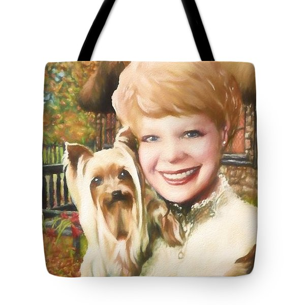 Yorkshire Lady Tote Bag by Dave Luebbert