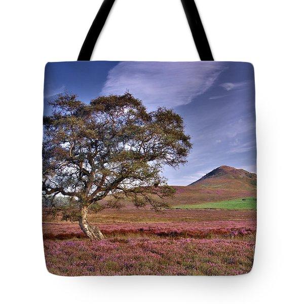 Yorkshire Moorland Heather Tote Bag