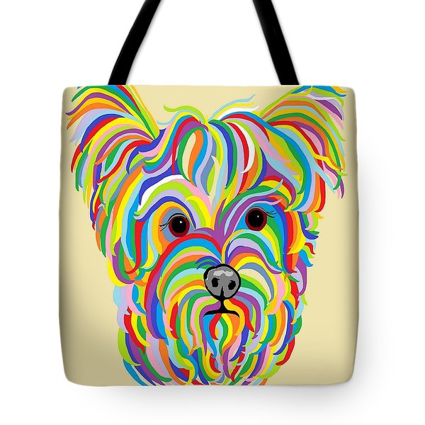 Yorkshire Terrier ... Yorkie Tote Bag
