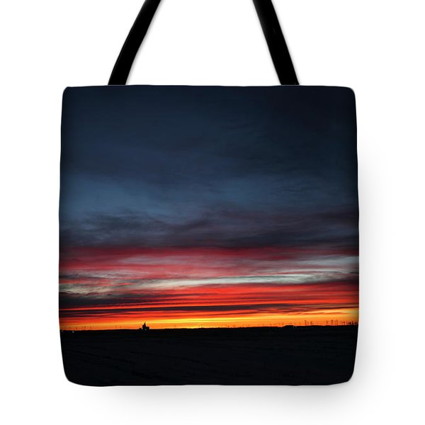 Yorkton Sunrise Tote Bag by Ryan Crouse