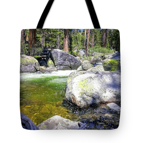 Yosemite Alive Tote Bag
