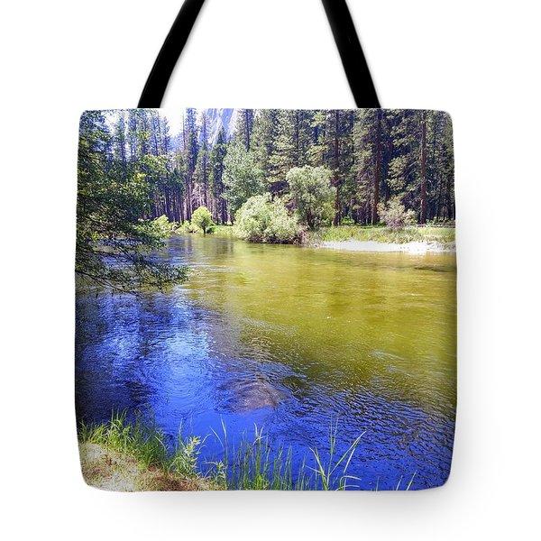 Yosemite River Tote Bag