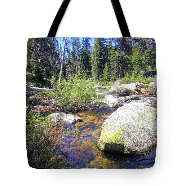 Yosemite Hidden Stream Tote Bag