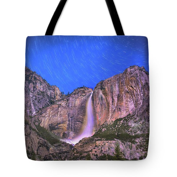 Yosemite At Night Tote Bag
