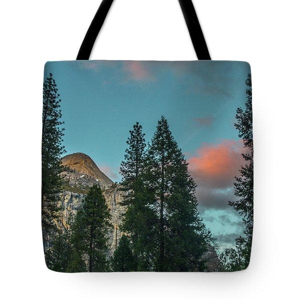 Yosemite Campside Evening Tote Bag