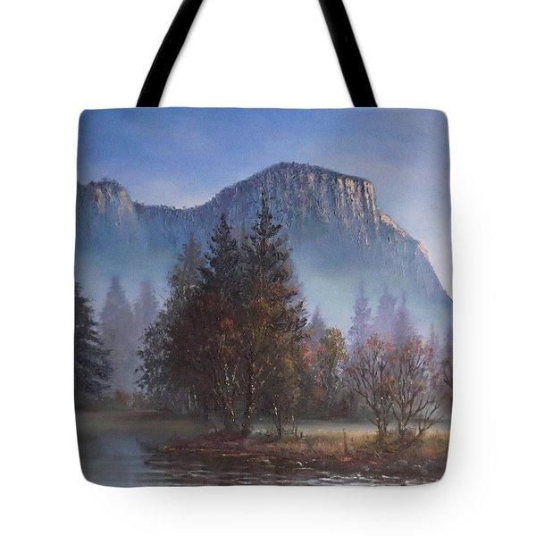 Yosemite Dawn Tote Bag by Sean Conlon