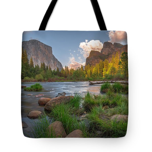 Yosemite Evening Tote Bag by Tim Bryan