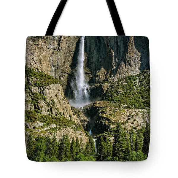 Tote Bag featuring the photograph Yosemite Falls by John Hight