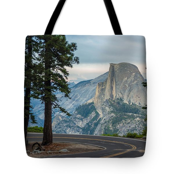 Yosemite Glacier Point Tote Bag