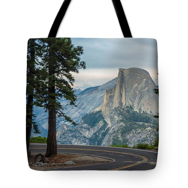 Yosemite Glacier Point Tote Bag by Jonas Wehbrink