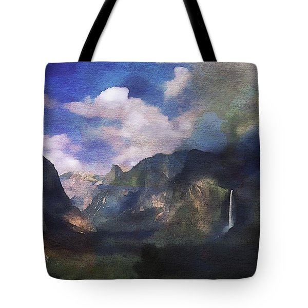 Yosemite H2o Color Tote Bag