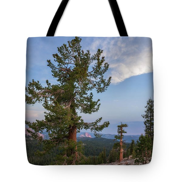 Half Dome From May Lake Tote Bag